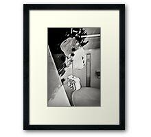 Get your kicks... Framed Print