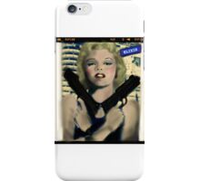 Marilyn. Thug Life. Elixir Designs. iPhone Case/Skin