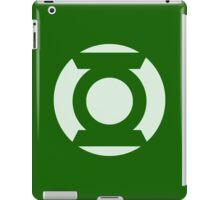 Green Lantern Light iPad Case/Skin