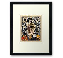 Outlaws and Sharpshooters Framed Print