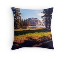 Tenaya Lake. Yosemite National Park, CA. Throw Pillow