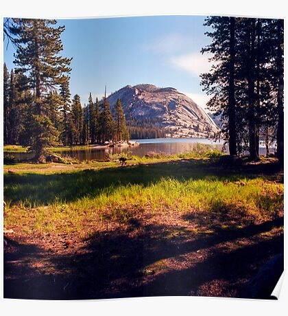 Tenaya Lake. Yosemite National Park, CA. Poster