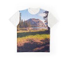 Tenaya Lake. Yosemite National Park, CA. Graphic T-Shirt