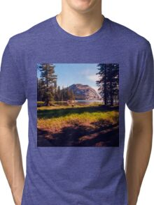 Tenaya Lake. Yosemite National Park, CA. Tri-blend T-Shirt