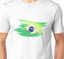 Brazil Torn-style Flag Unisex T-Shirt