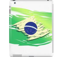 Brazil Torn-style Flag iPad Case/Skin