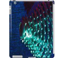 Turquoise Bike Cassette Gears iPad Case/Skin