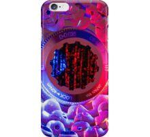 Blue Pink Bike Cassette iPhone Case/Skin