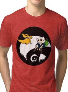 The nightmare before christmas time Tri-blend T-Shirt