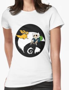 The nightmare before christmas time Womens Fitted T-Shirt
