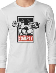 Obey ED-209 Long Sleeve T-Shirt