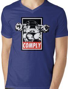 Obey ED-209 Mens V-Neck T-Shirt