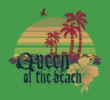 Queen of the Beach Kids Tee