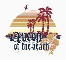 Queen of the Beach Kids Tee