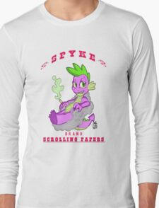 Spyke(tm) Scrolling Papers Long Sleeve T-Shirt