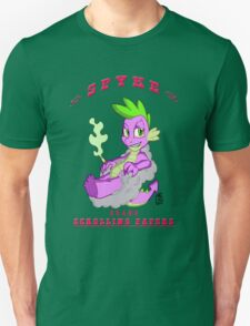 Spyke(tm) Scrolling Papers T-Shirt