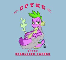 Spyke(tm) Scrolling Papers Unisex T-Shirt