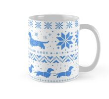Love Joy Peace Wiener Dogs Mug