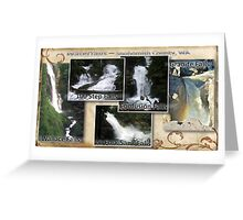 Waterfalls in Snohomish County Greeting Card