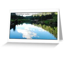 Heather Lake Greeting Card