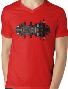 Detroit City Mens V-Neck T-Shirt