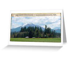 Mt Pilchuck Greeting Card