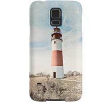 Sankaty Head Lighthouse on the island of Nantucket MA Samsung Galaxy Case/Skin