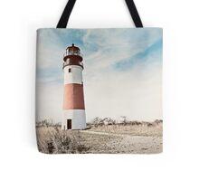 Sankaty Head Lighthouse on the island of Nantucket MA Tote Bag