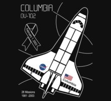 Space Shuttle Columbia by Samuel Sheats