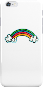 rainbow iPhone iPod case by © Karin  Taylor
