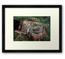 Thinking of You ~ Across the Miles ~ I love you Framed Print