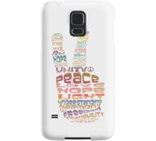Peace sign iPhone and iPod case Samsung Galaxy Case/Skin