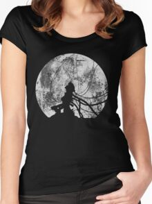 Shell of a ghost! Women's Fitted Scoop T-Shirt