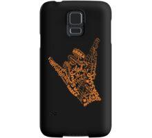 shaka hand sign iphone ipod case Samsung Galaxy Case/Skin
