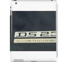 DS23 electronic ignition iPad Case/Skin