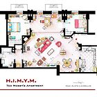  Ted Mosby apartment from &#x27;HIMYM&#x27; by Iaki Aliste Lizarralde