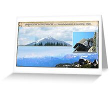 Mt Pilchuck Lookout Greeting Card