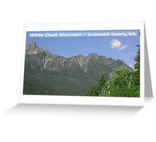 White Chuck Viewpoint Greeting Card