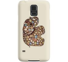 Patchwork Elephant Samsung Galaxy Case/Skin