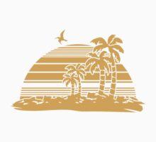 Sunset Beach Kids Tee