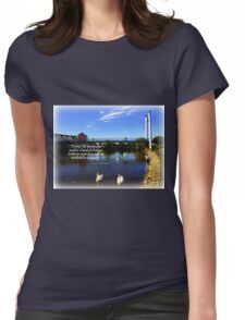 Exeter Quay Womens Fitted T-Shirt