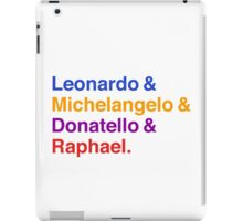 Renaissance Colors iPad Case/Skin