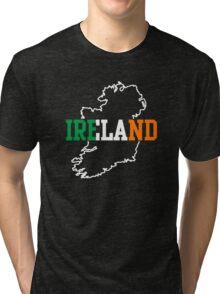 Ireland Map Tri-blend T-Shirt