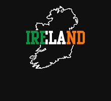 Ireland Map Womens Fitted T-Shirt