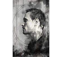 Michael Fassbender Photographic Print