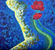Poppies Beauty 2 by Luxoart