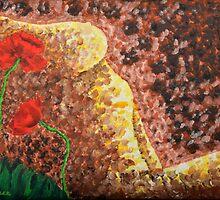 Poppies Beauty 3 by Luxoart