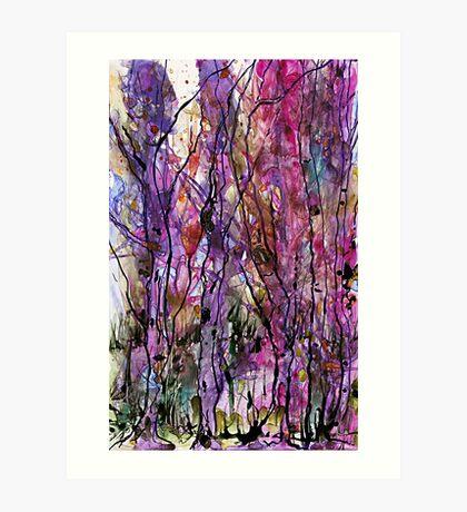 The Language of Trees Art Print