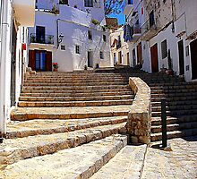 Ibiza Old Town by Fara