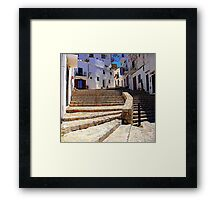 Ibiza Old Town Framed Print